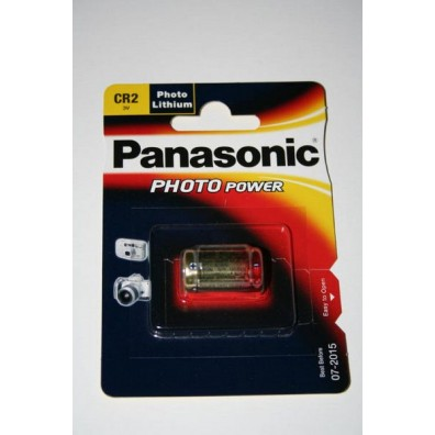 Panasonic – CR2 CR17355 3V Lithium Batterie – 1er Blister