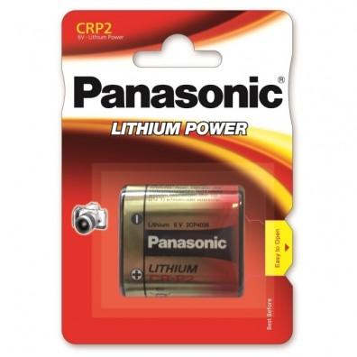Panasonic – CR-P2 223 6V Lithium Batterie – 1er Blister