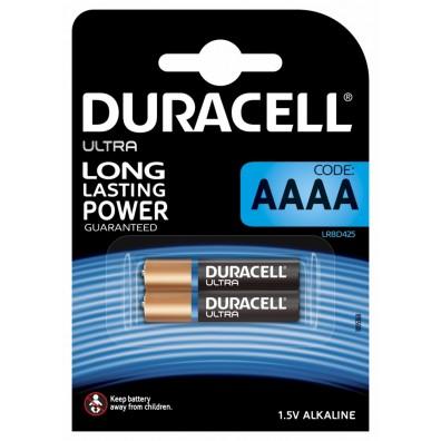 Duracell – Ultra AAAA MX2500 LR61 1,5V Alkaline Batterie – 2er Blister