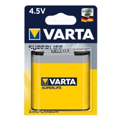 Varta Flachbatterie 2012 101 411 (3R12) Superlife ZK in 1er-Blister