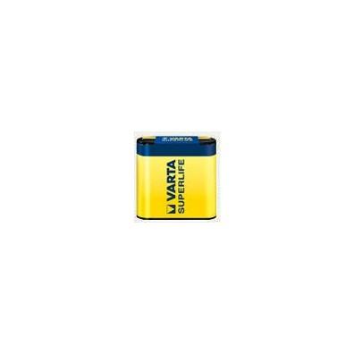 Varta – Superlife 2012 4,5V Flachbatterie 3R12 Zink Kohle -1er Folie