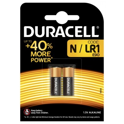 Duracell Lady MN9100 (LR1) in 2er-Blister