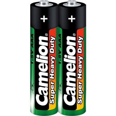 Camelion – Super Heavy Duty AAA Micro L03 1,5 Zink Kohle Batterien – 2er Folie