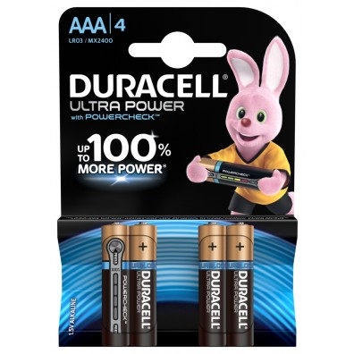 Duracell Micro MX2400 Ultra Power in 4er-Blister