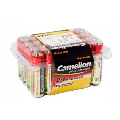 Camelion – Plus AA Mignon LR6 1,5V Alkaline Batterie – 24er Box