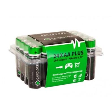 Cardiocell – Plus AA Mignon LR6 1,5V Alkaline Batterie – 24er Box