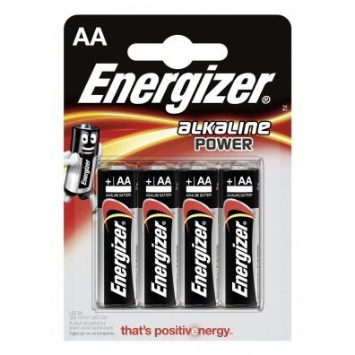Energizer – Power AA Mignon LR6 1,5V Alkaline Batterie – 4er Blister