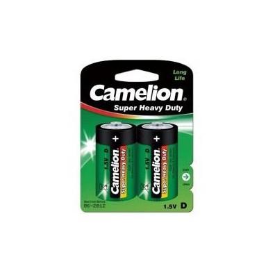 Camelion – Super Heavy Duty Mono D R20 1,5V Zink-Kohle Batterie – 2er Blister