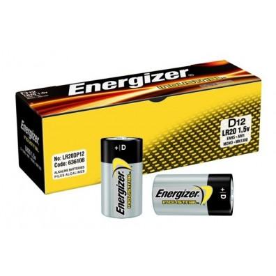 Energizer – Industrial Mono D LR20 1,5V Alkaline Batterie – 12er Box