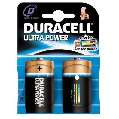 Duracell – Ultra Power Mono D  MX1300 LR20 1,5V Alkaline Batterie – 2er Blister