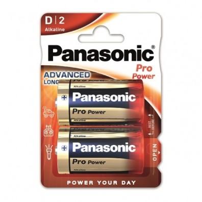 Panasonic – Pro Power Mono D LR20 1,5V Alkaline Batterie – 2er Blister