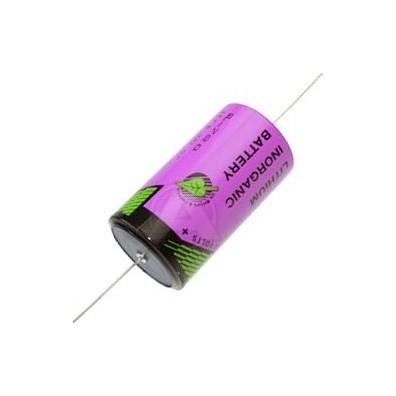 Tadiran LTC SL-2780/P D 3,6V Lithium Batterie mit axialem Drahtanschluss