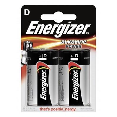 Energizer – Power Mono D LR20 1,5V Alkaline Batterie – 2er Blister