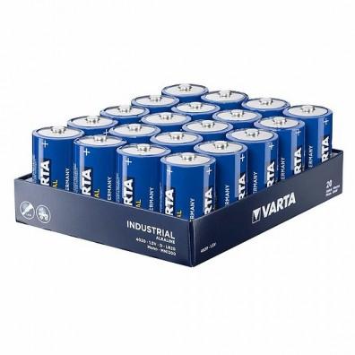 Varta – Industrial 4020 Mono D LR20 1,5V Alkaline Batterie – 20er Folie