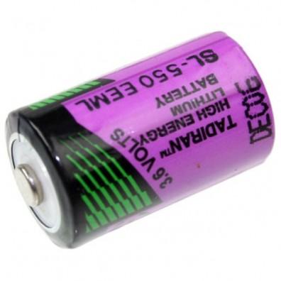 Tadiran-  LTC SL-550/S 1/2AA 3,6V  Lithium Batterie ohne Ableiter