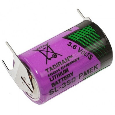 Tadiran - LTC SL-750/PT 1/2AA 3,6V Lithium Batterie mit 3er Print
