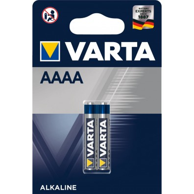 Varta - Electronics  4061 AAAA 1,5V Alkaline Batterie – 2er Blister