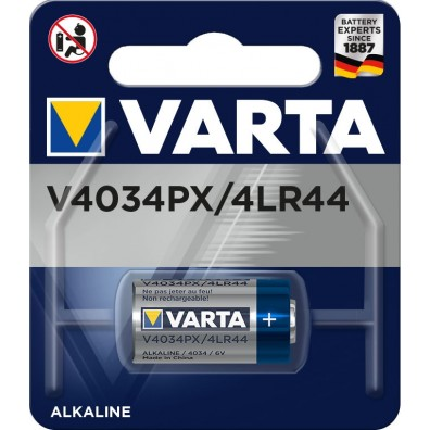 Varta – V4034PX 4LR44 6V Alkaline Batterie – 1er Blister