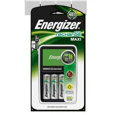 Energizer - Ladegerät Maxi Charger ink. 4 x AA HR6 2000mAh Akkus