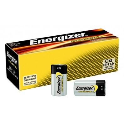Energizer – Industrial Baby C LR14 1,5V Alkaline Batterie – 12er Box
