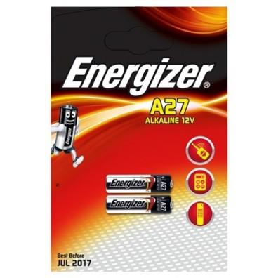 Energizer – A27 MN27 27A 12V Alkaline Batterie – 2er Blister