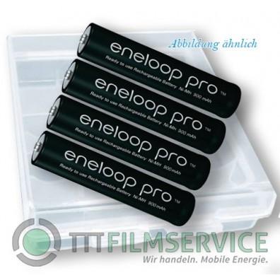 Panasonic – eneloop pro 4HCDE AAA HR03 900mAh 1,2V NiMH Akku – 4er Box