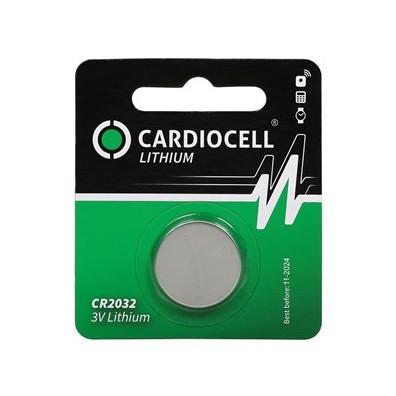 Cardiocell – CR2032  Lithium 3V Knopfzelle – 1er Blister