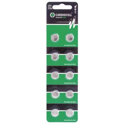 Cardiocell – AG13 LR44 LR1154 1,5V Alkaline Knopfzelle – 10er Blister