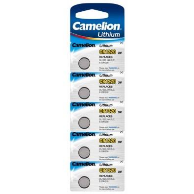 Camelion – CR1220 Lithium 3V Knopfzelle – 5er Blister