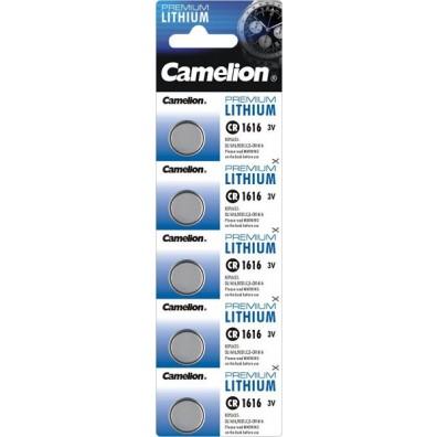 Camelion – CR1616 Lithium 3V Knopfzelle – 5er Blister