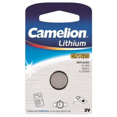 Camelion – CR1620 Lithium 3V Knofzelle – 1er Blister