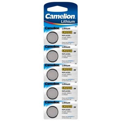 Camelion – CR2032 Lithium 3V Knopfzelle – 5er Blister