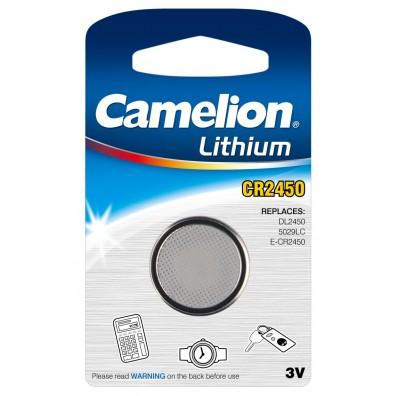 Camelion – CR2450 Lithium 3V Knopfzelle – 1er Blister