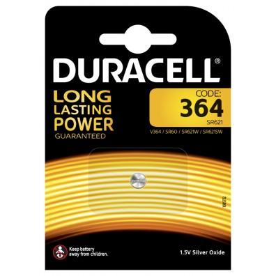 Duracell – 364 SR60 SR621SW 1,55V Knopfzelle – 1er Blister