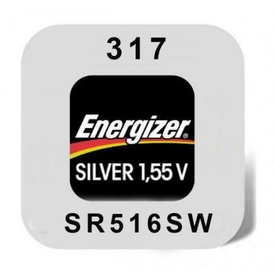 Energizer – 317 SR62 SR516SW 1,55V Knopfzelle