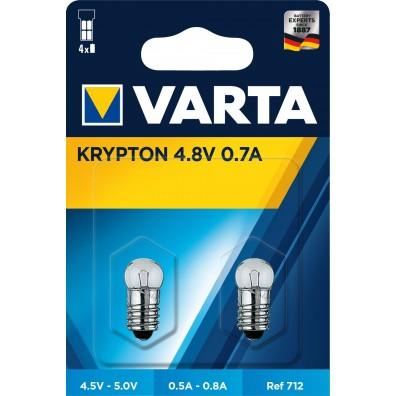 Varta Glühlampen 712 Krypton - 2er Blister