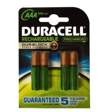 Duracell – Ultra AAA HR03 900mAh NIMH Akku – 4er Blister