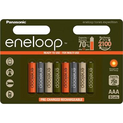 Panasonic – eneloop 4MCCE AAA HR03 750mAh 1,2V NiMH Akku – 8ter Blister