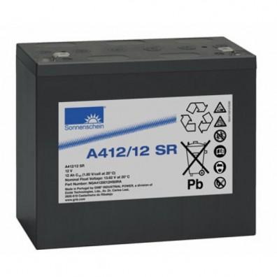 Exide - Sonnenschein A412/12SR Bleiakku 12V 12Ah mit 6,3 mm Faston