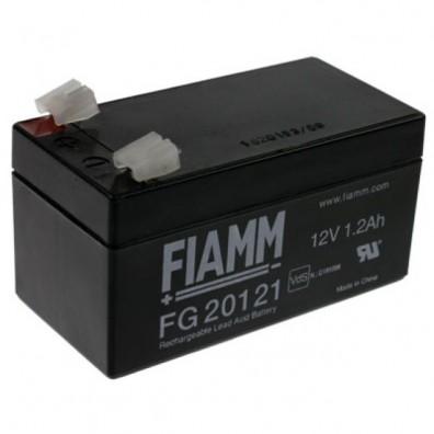 Fiamm - Bleiakku 12V 1,2Ah FG20121 mit 4,8mm Faston - VdS Zulassung
