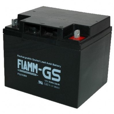 Fiamm - Bleiakku 12V 42Ah FG24204 Schraubanschluss mit M6-Gewinde