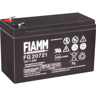 Fiamm - Bleiakku 12V 7,2Ah FG20721  m. 4,8 mm Faston