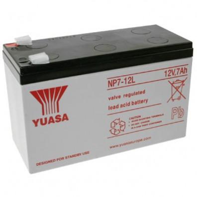 Yuasa - NP7-12L Bleiakku  12V 7Ah 6,3 mm Faston