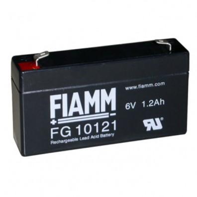 Fiamm - Bleiakku 6V 1,2Ah FG10121 4,8mm Faston