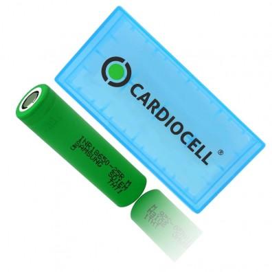 Samsung - INR18650-25R 2500mAh 3,6V-3,7V 20A Li-Ion Akku - 1 Stück inkl. CardioCell Box