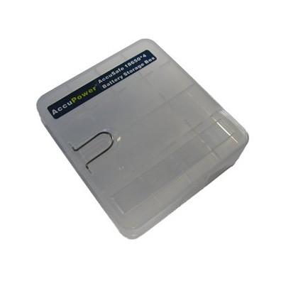 Batteriebox für 4x Li-Ionen Akkus 18650