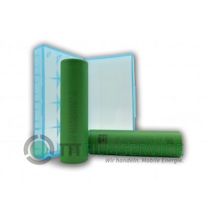 2x Sony US18650VTC6 Lithium Ionen 18650 30A 3120mAh einzeln mit Box